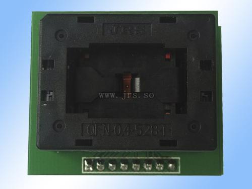 QFN16-0.4下压烧录座